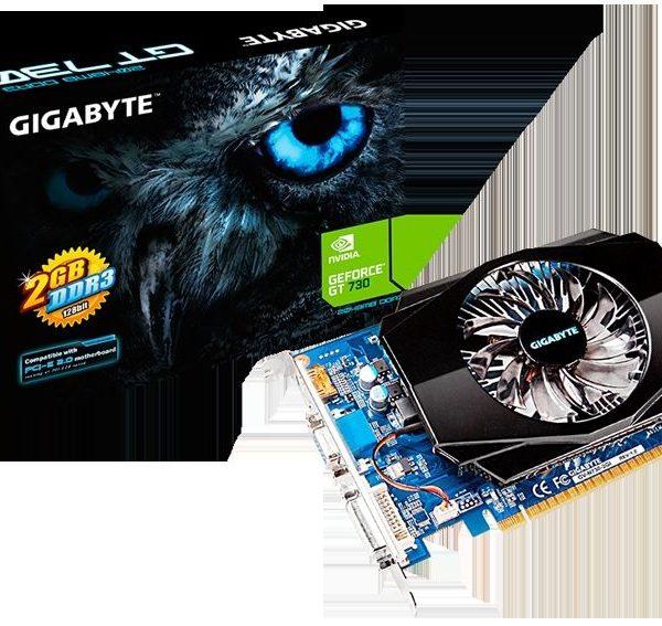 Card Gigabyte GV-N730-2GI Rev 1.0