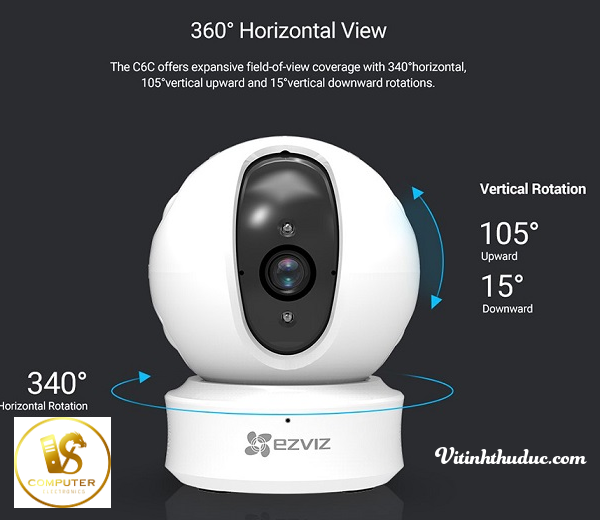 Camera Ezviz C6C CS-CV246 (Ez360 1080p)