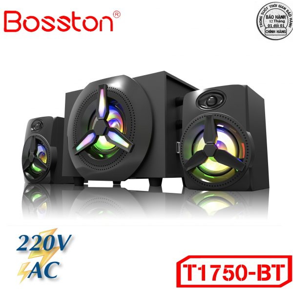 Loa Bosston 1750 BT – Led RGB
