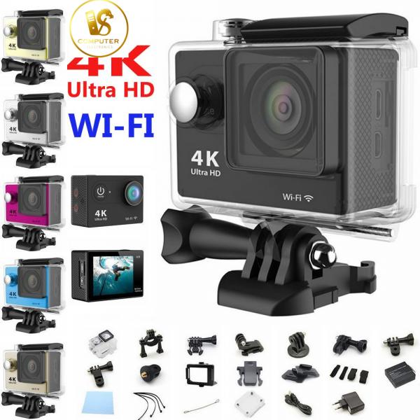 Camera Hành Trình 4K Ultra HD Chống Nước Hỗ Trợ Wifi Full Phụ Kiện