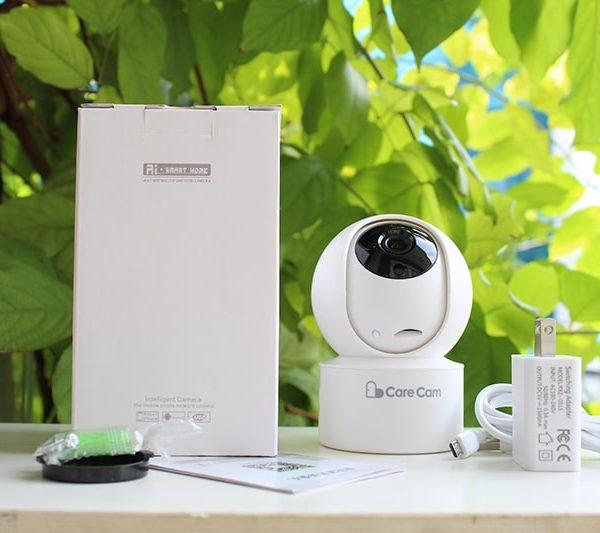 Camera Ip – Camera Wifi CareCam YH200 Độ Phân Giải 2.0Mpx – Xoay Theo Chuyển Động