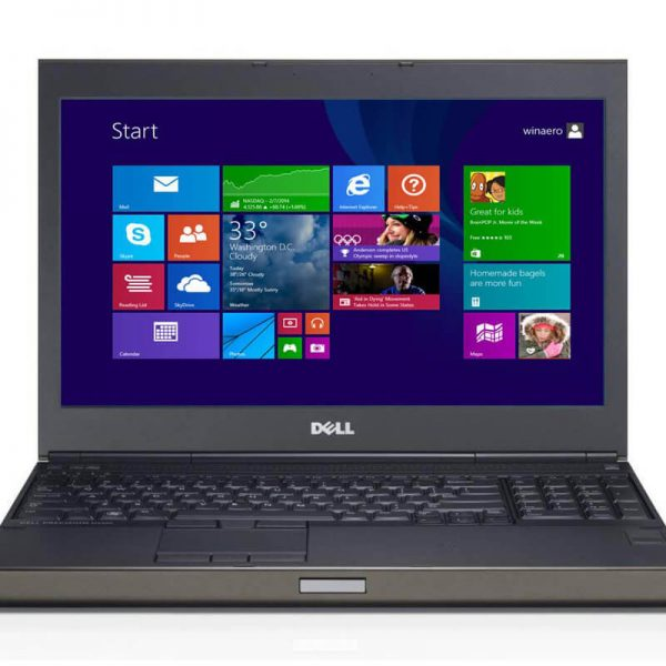 Dell Precision 4800 Core I7 4800MQ 2.7GHZ, Ram 8GB, 256G SSD, Vga Quadpro K2100 2G, 15.6″FHD, Win 10 Pro