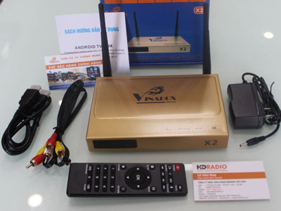 Android TV Box VINABOX X2 – 2019