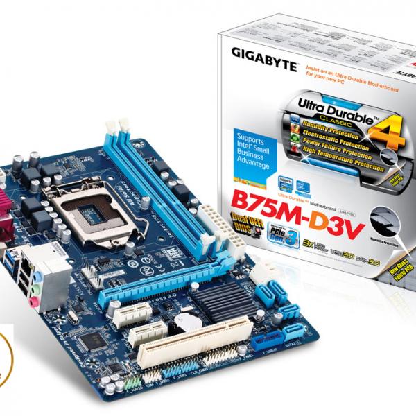 Main gigabyte B75m-dv3 BH3T
