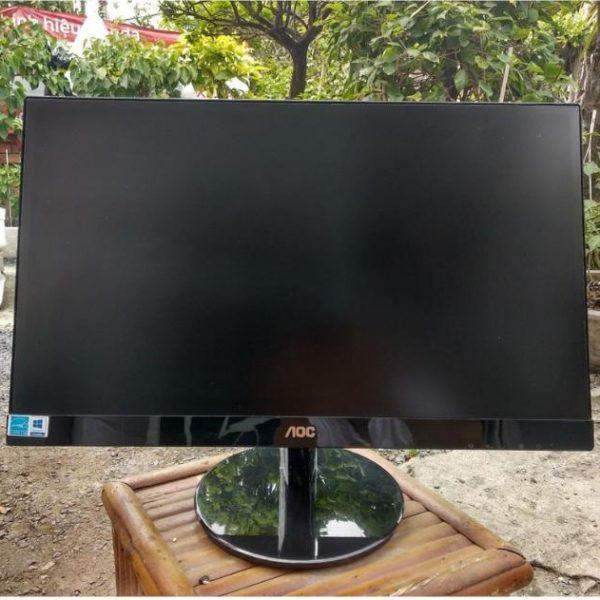 Màn hình máy tính AOC 24V2Q 24 inches IPS FHD 75Hz (Đen) – Hàng chính hãng