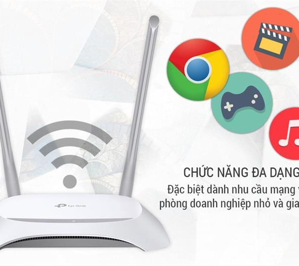 Bộ phát Wifi TP-LINK TL-WR840N 300 Mbps