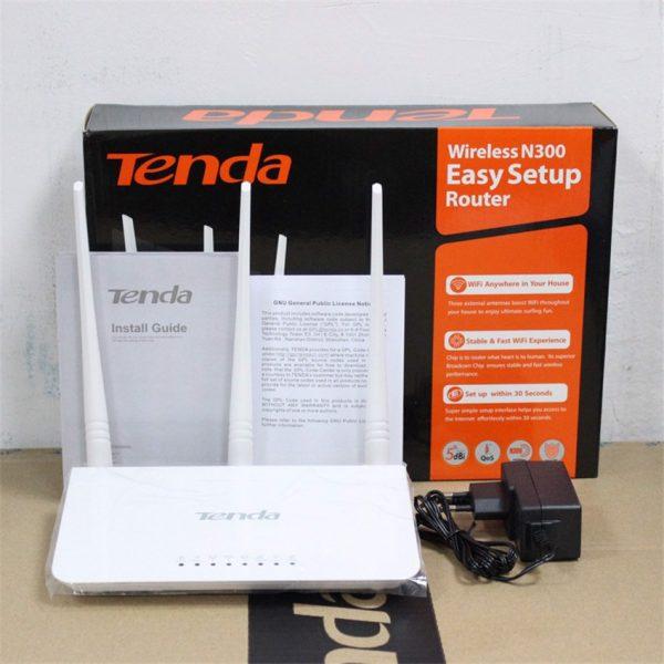 Bộ Phát Sóng Wifi Router Chuẩn N 300Mbps Tenda F3 – Hàng Chính Hãng