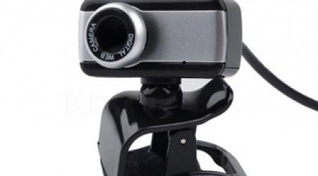 Webcam kẹp có mic (màu đen)